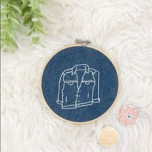 Other - Embroidered Hoop